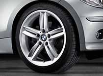 Double-spoke-style-208M-для-BMW