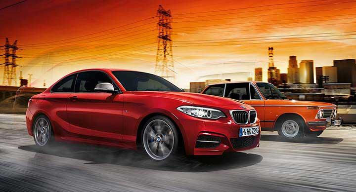 Купе BMW F22 и 02