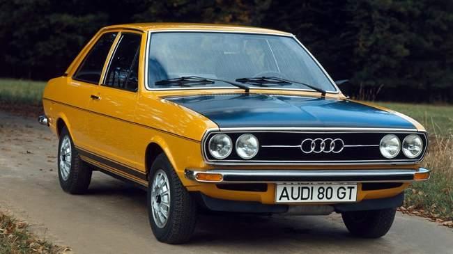 Audi 80 GT 1974 года выпуска