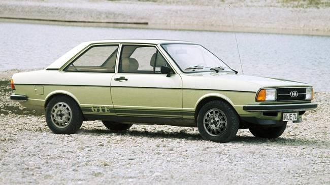Audi 80 GTE 1976 года выпуска