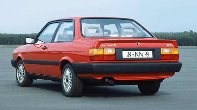 Audi 80 GTE 1984 года