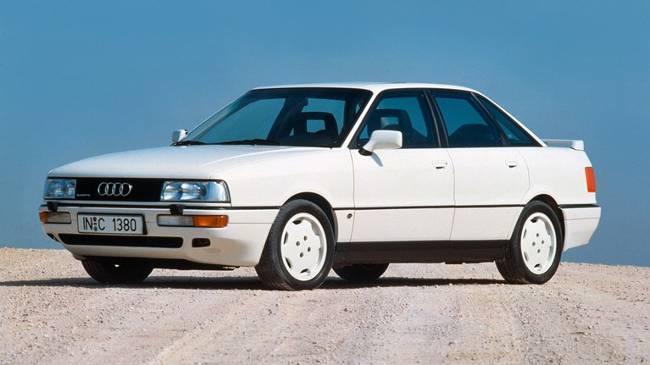 Audi 90 Quattro 20V 1986 года