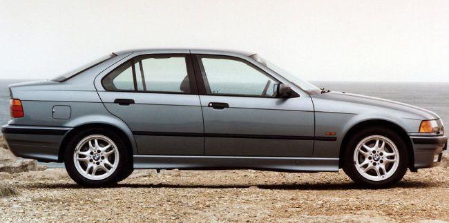 BMW 3 Series E36 - третье поколение 3 серии