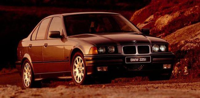 BMW 3 Series E36 325i Sedan