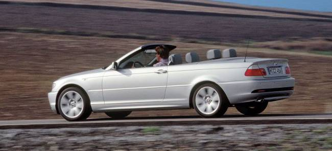 BMW 3 Series E46 320Cd Cabrio