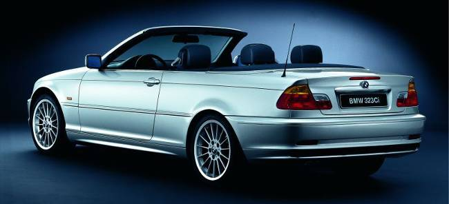 BMW 3 Series E46 323Ci Cabrio