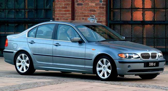 BMW 3 Series E46 330xd Sedan