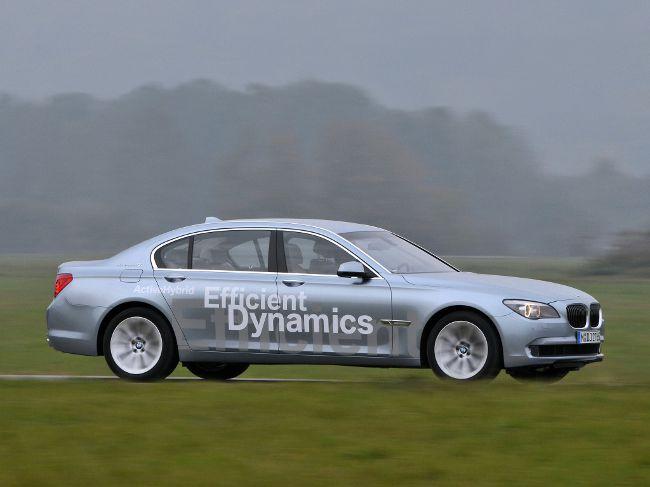 Гибридная модель BMW F04 ActiveHybrid 7