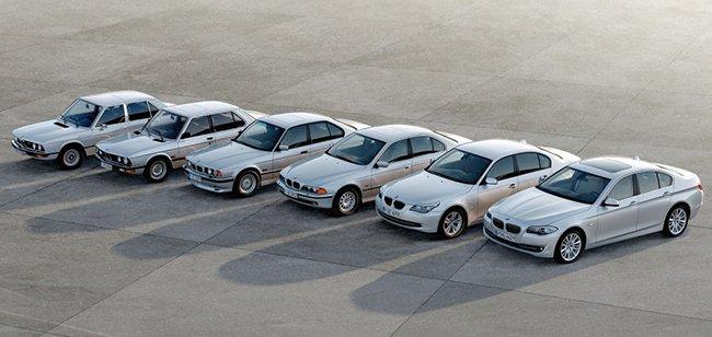 Семейство автомобилей 5 серии