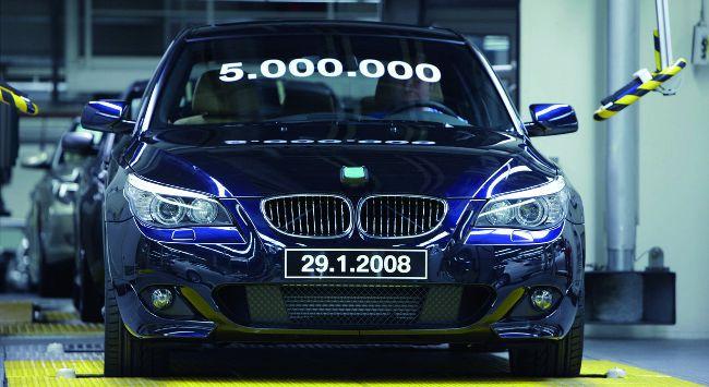 5-ти миллионный BMW 5 серии