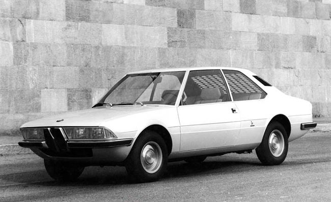 BMW 2200 TI Garmisch от Bertone