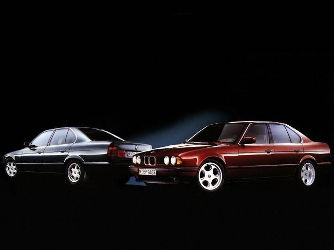 BMW 5 Series в кузове Е34