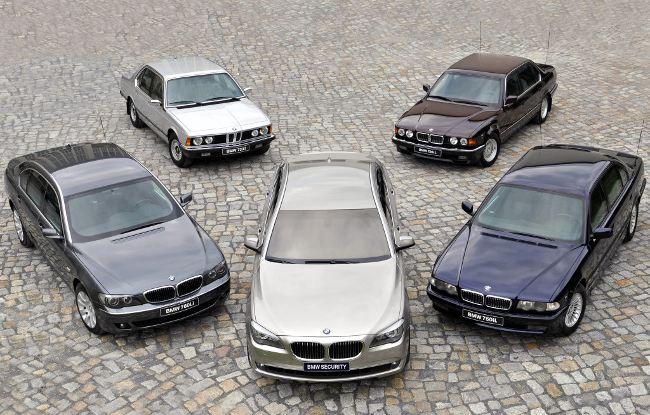 BMW 7 Series - модельный ряд роскошных автомобилей