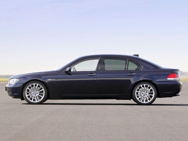 BMW E66 Li 7 Series - до рестайлинга