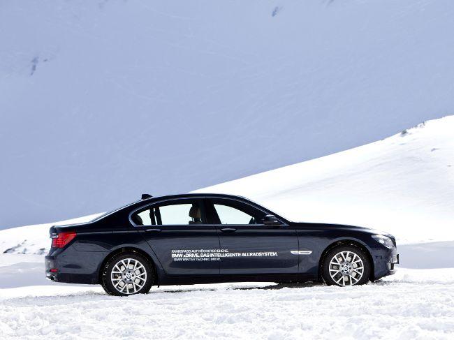 BMW F01 с приводом на все колеса - впервые в 7 серии