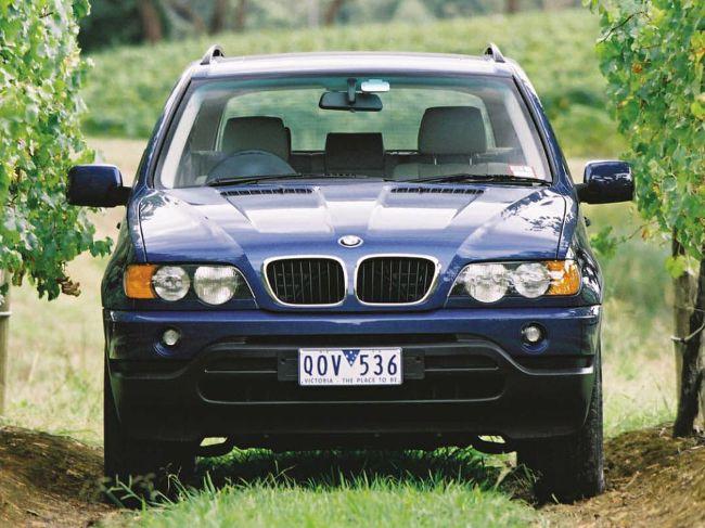 БМВ Е53 - первое поколение из серии Х5