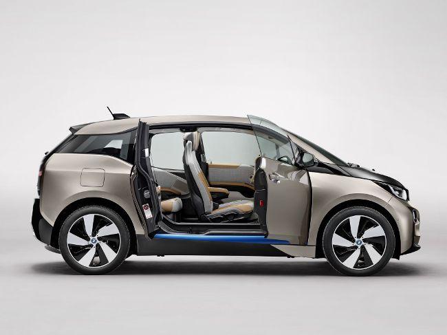 Компактный электромобиль BMW i3 - внутреннее обозначение - i01