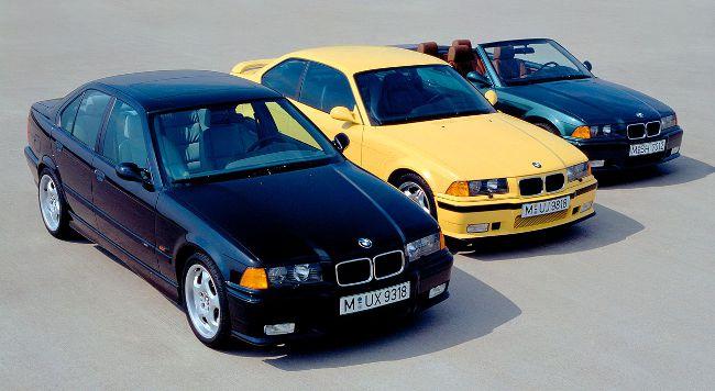 Семейство BMW M3 в кузове E36