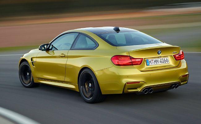 Фото BMW M4 в кузове купе Ф82