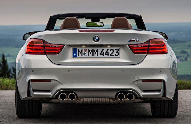 Фото BMW M4 F83 - первый кабриолет серии М4
