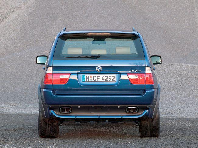 BMW E53 - рестайлинговая версия X5