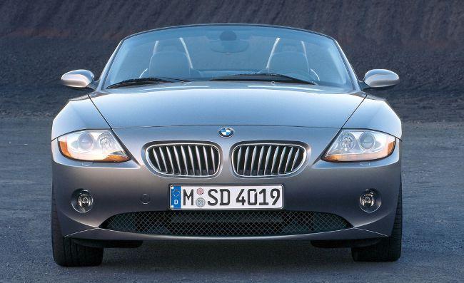 BMW E85 - первый родстер Z4