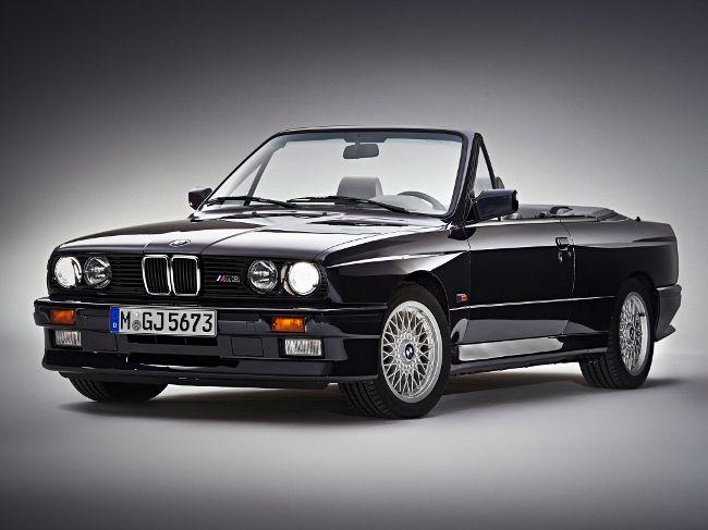 BMW M3 E30 в кузове кабриолет