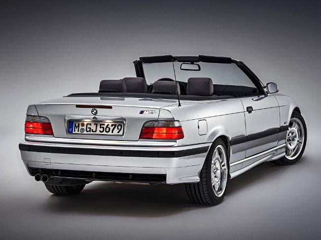 BMW M3 E36 в кузове кабрио