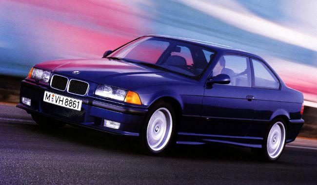 BMW M3 E36 в кузове Coupe