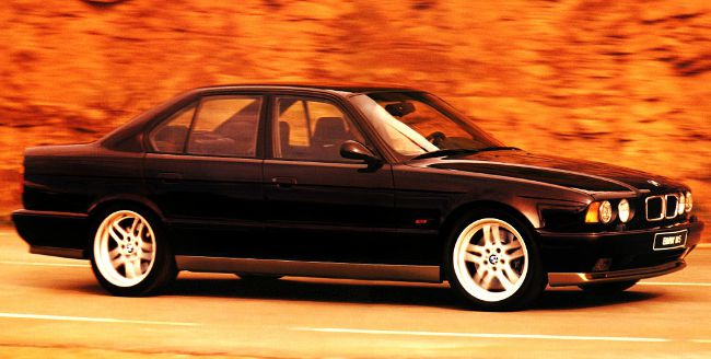 BMW M5 - третье поколение в кузове Е34