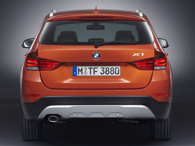 BMW X1 E84 после рестайлинга в 2012 году