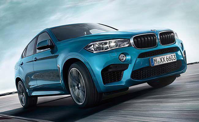BMW X6 M - история