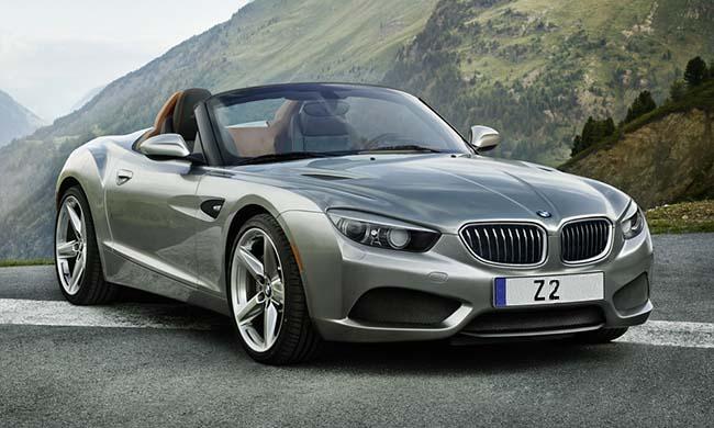 BMW Z2 от Теофила Чин созданного на основе концепта Zagato Roadster