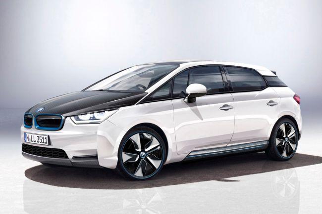 BMW i5 - дизайн через PS