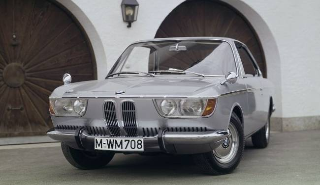 BMW 2000 C Automatic - роскошное купе