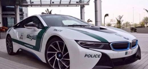 BMW i8 Police Дубаи