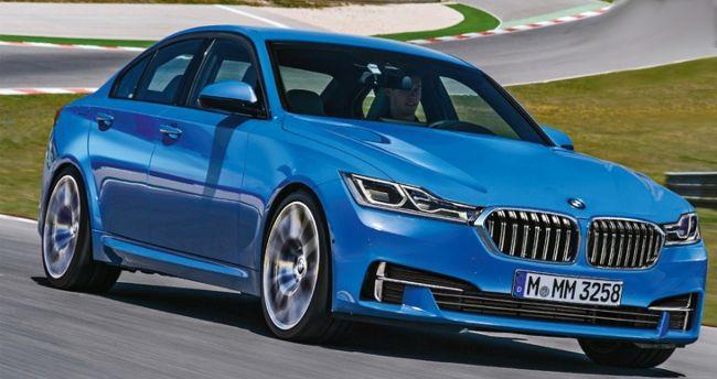 BMW G20 3 Series - 2018 год - предварительное фото