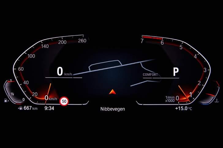 Priboru BMW G20 3 Series 2019