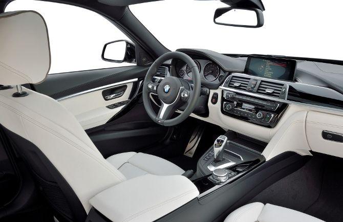 Интерьер BMW 340i F30 3 серии