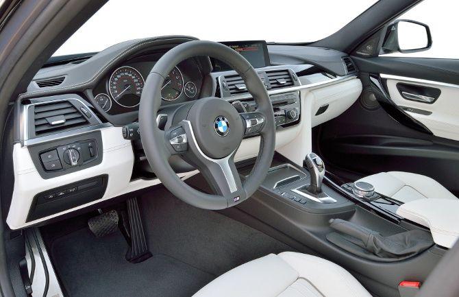 Салон BMW 340i F30 3 Series