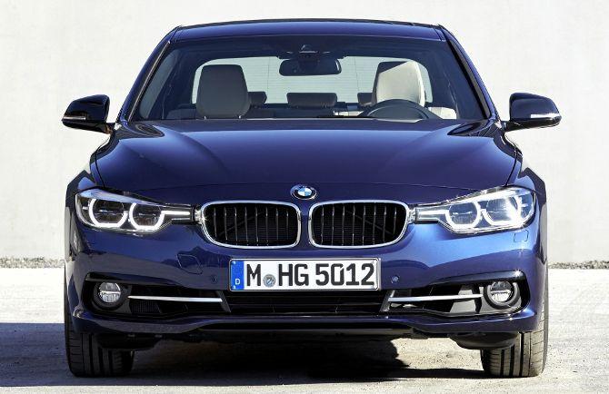 BMW 340i F30 3 Series - вид спереди