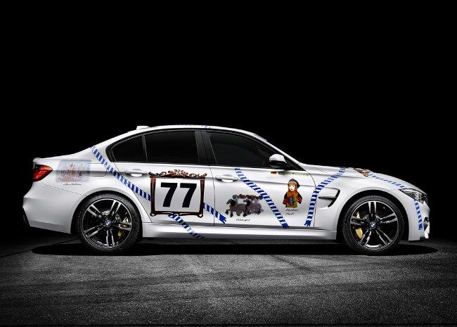 Фото BMW M3 Munchner Wirte F80