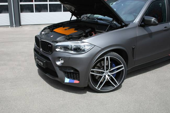 Под капотом BMW X5 M G-POWER F85 Hurricane RR