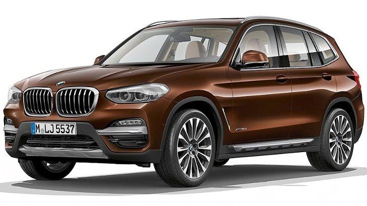 BMW X3 G01 Luxury Line - спереди