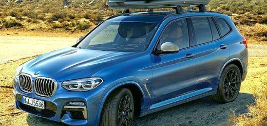 Новый BMW X3 G01 - параметры - фото