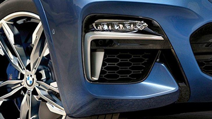 Передний спортивный бампер BMW X3 G01
