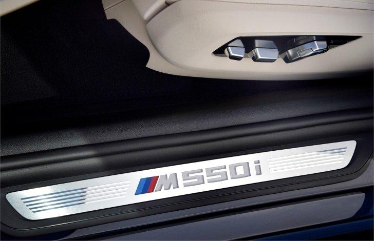 Дверной-порог-BMW-M550i-xDive-G30-5-Series