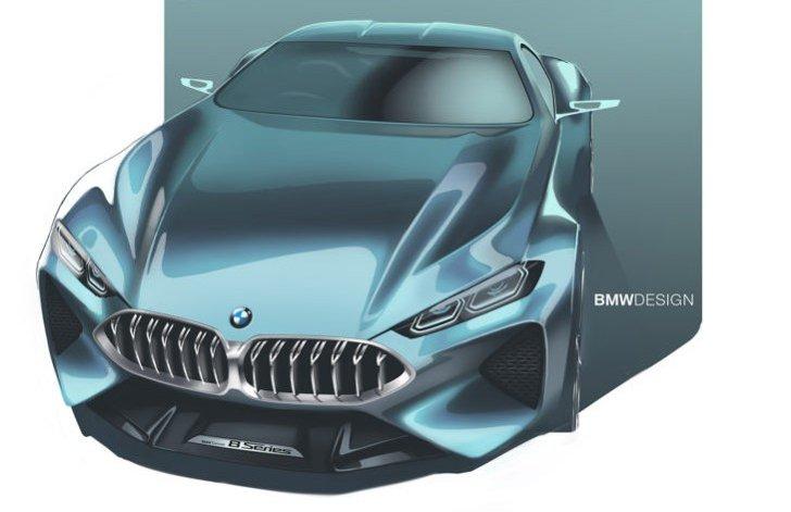 BMW 8 Series Concept - фото 7