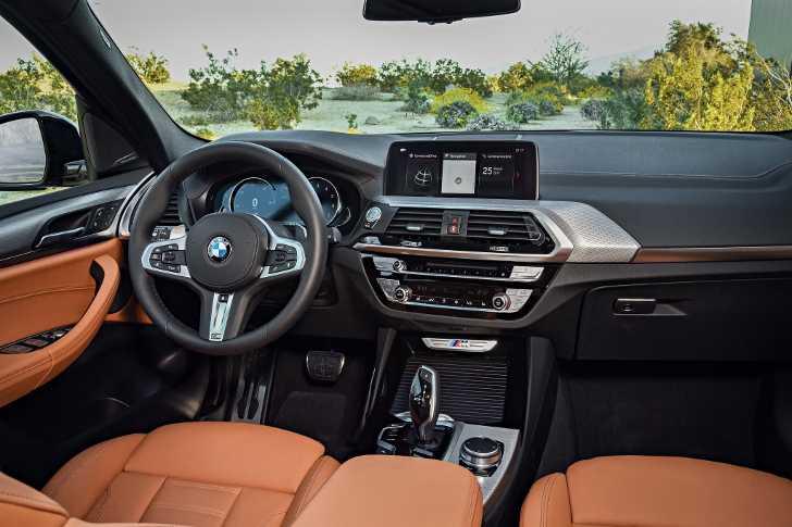Салон BMW X3 M40i G01