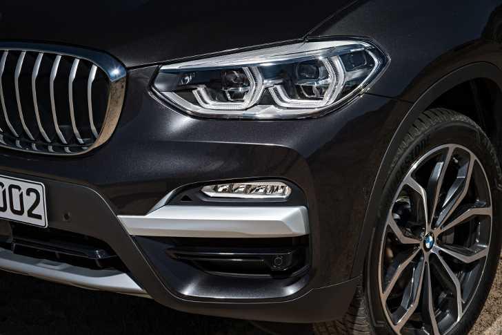 Передняя оптика BMW X3 xDrive30d G01 с пакетом xLine